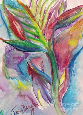 Tropical Bliss Art Print by Jamey Balester