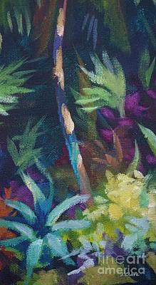 St Lucia Painting - Tropical Charm by John Clark