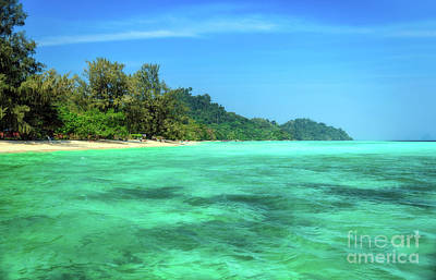 Lanta Photograph - Tropical Coast by Adrian Evans