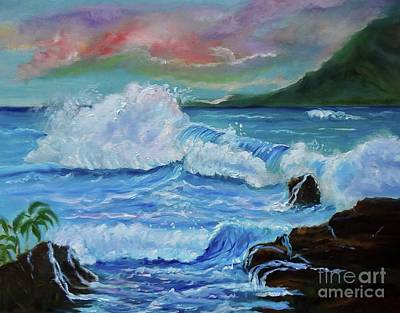 Painting - Tropical Coast Jenny Lee Discount by Jenny Lee