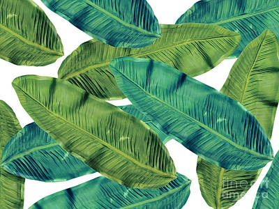 Leaves Digital Art - Tropical Colors 2 by Mark Ashkenazi
