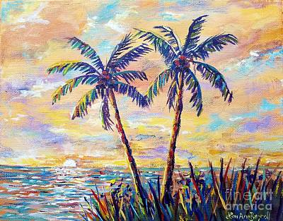 Painting - Tropical Delight by Lou Ann Bagnall