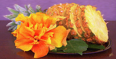 Photograph - Tropical Delight Still Life by Ben and Raisa Gertsberg
