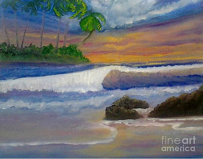Painting - Tropical Dream by Holly Martinson