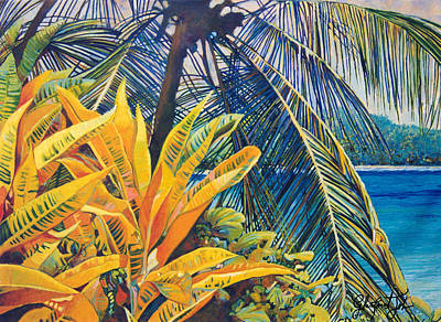 Tropical Dreams Art Print