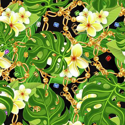 Tropical Elegant Art Print by Mark Ashkenazi
