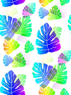 Digital Art - Tropical Explosion by Kathleen Sartoris