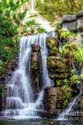 Photograph - Tropical Falls by Gene Healy
