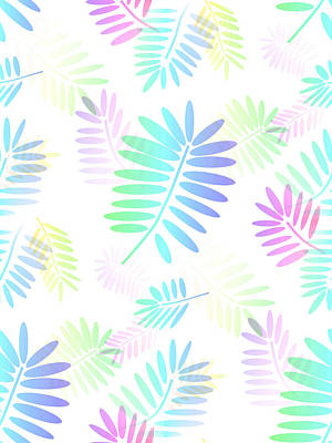 Digital Art - Tropical Fantasy by Kathleen Sartoris