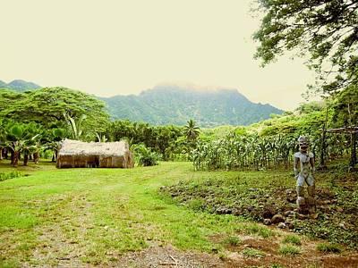 Tropical Farm Art Print by Halle Treanor