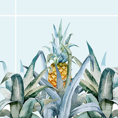 Banana Wall Art - Painting - Tropical Feeling  by Mark Ashkenazi