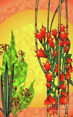 Tropical Firecracker Art Print