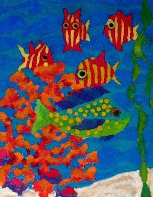 Tropical Fish Art Print by Jeanette Lindblad
