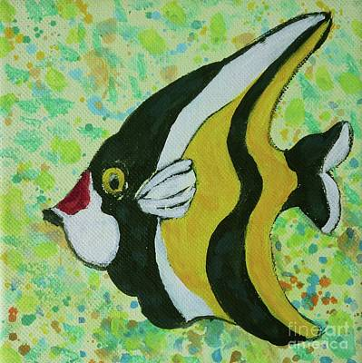 Painting - Tropical Fish Series 1 Of 4 by Gail Kent