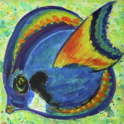 Painting - Tropical Fish Series 3 Of 4 by Gail Kent