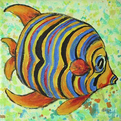 Tropical Fish Series 4 Of 4 Art Print