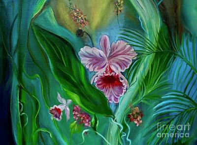 Painting - Tropical Flower 11 by Jenny Lee