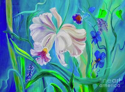 Painting - Tropical Flower 111 by Jenny Lee