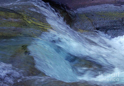 Photograph - Tropical Flowing Waters  by Kerryn Madsen- Pietsch