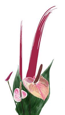 Digital Art - Tropical Fun 1 by Su Nimon
