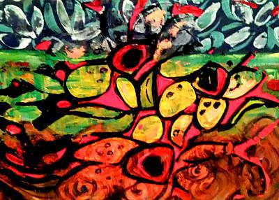 Painting - Tropical Garden by Nikki Dalton
