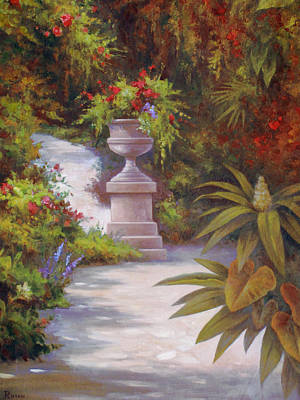 Painting - Tropical Garden by Vivien Rhyan