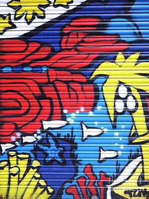 Photograph - Tropical Graffiti Barcelona by John Rizzuto