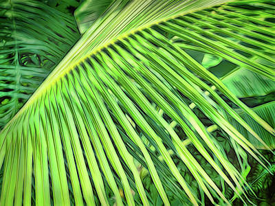 Photograph - Tropical Green by Ann Powell