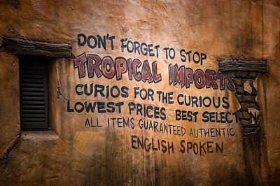 Photograph - Tropical Imports by Mark Andrew Thomas