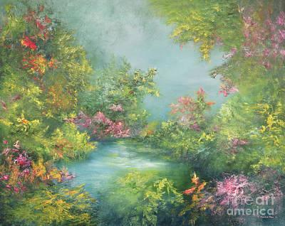 Tropical Impression Art Print