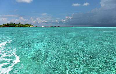 Photograph - Tropical Island. Approaching Rain by Jenny Rainbow