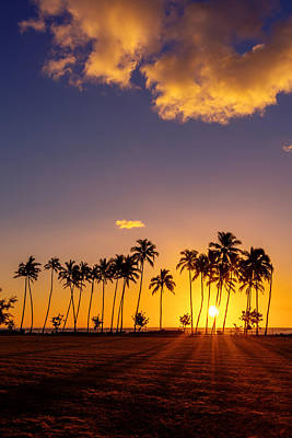 Photograph - Tropical Island Sunrise by Pierre Leclerc Photography