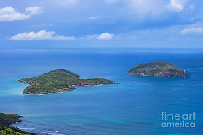 Photograph - Tropical Islands In The Caribbean Sea by Olga Hamilton