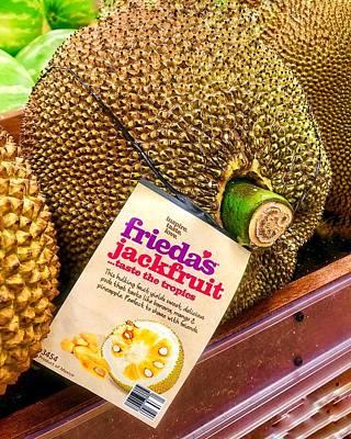 Photograph - Tropical Jackfruit  by Renee Marie Martinez