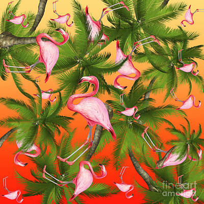 Leaves Digital Art - Tropical by Mark Ashkenazi