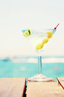 Martini Royalty-Free and Rights-Managed Images - Tropical martini dream by Ekaterina Molchanova