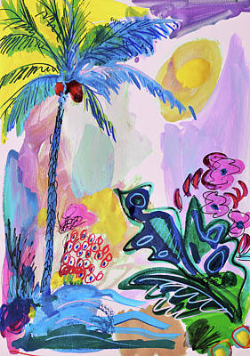 Painting - Tropical Moods by Amara Dacer