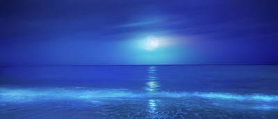 Mark Andrew Thomas Royalty-Free and Rights-Managed Images - Tropical Moonrise by Mark Andrew Thomas