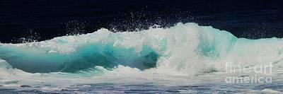Tropical Ocean Surf Art Print by Scott Cameron