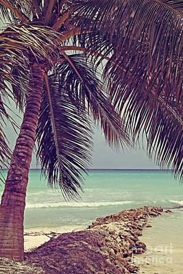 Tropical Ocean View Art Print
