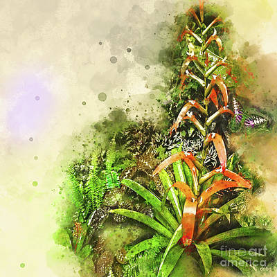 Tropical Orange Art Print