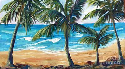 Painting - Tropical Palms I by Phyllis Howard