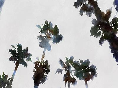 Painting - Tropical Palms by Tracey Harrington-Simpson