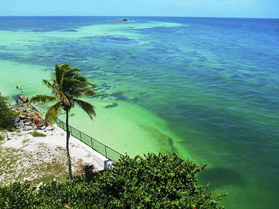 Photograph - Tropical Paradise Florida Keys by Irina Sztukowski