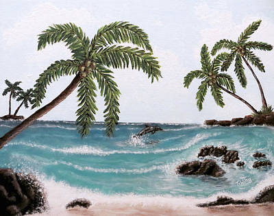 Painting - Tropical Paradise by Teresa Wing