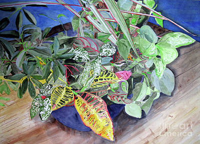 Painting - Tropical Plants by Sandy McIntire