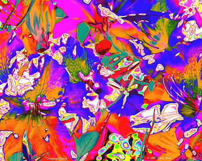 Digital Art - Tropical Punch by Larry Beat