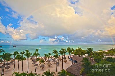 Photograph - Tropical Rainbows by Christy Woodrow
