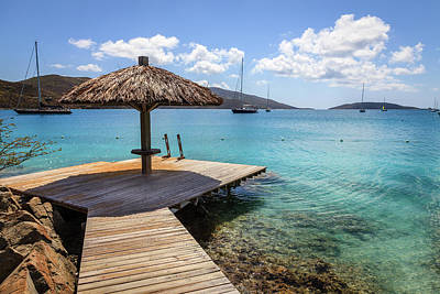Photograph - Tropical Resort In Bvi by Alexey Stiop