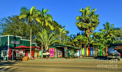 Photograph - Tropical Rush Tourist Magnet North Shore Haleiwa Hawaii Collection Art by Reid Callaway